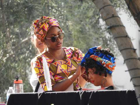 Head Wraps In The Park