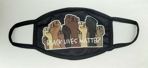 Washable Proud BLM Face Mask