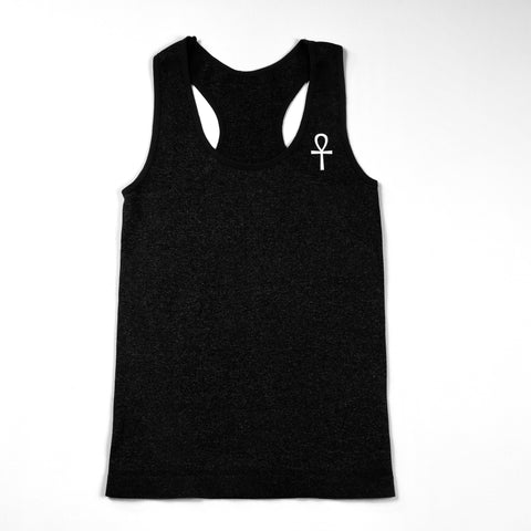 Ankh Tank Top in Black