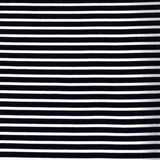Stretch Wrap Stripes Black & Off White