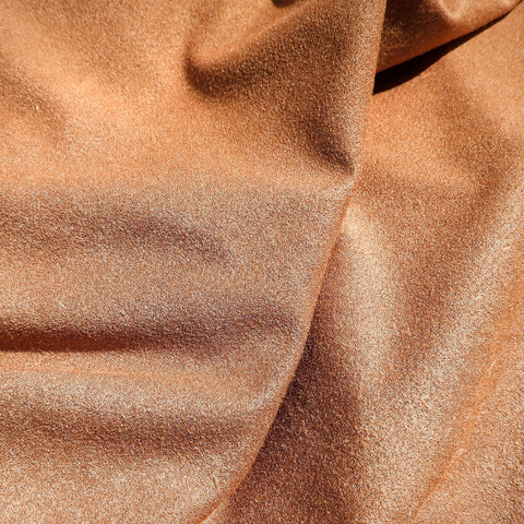 Faux Suede Light Brown