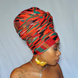 Stretch Wrap Kente