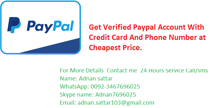Get 100% Verified Paypal Account