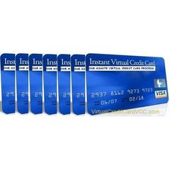 instant virtual credit card vcc