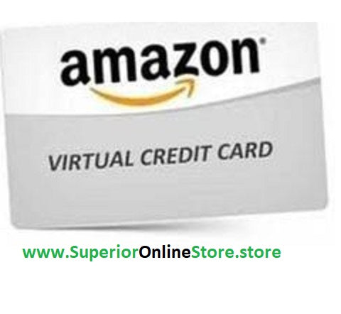 Buy Virtual Credit Card (VCC) for Amazon Verification