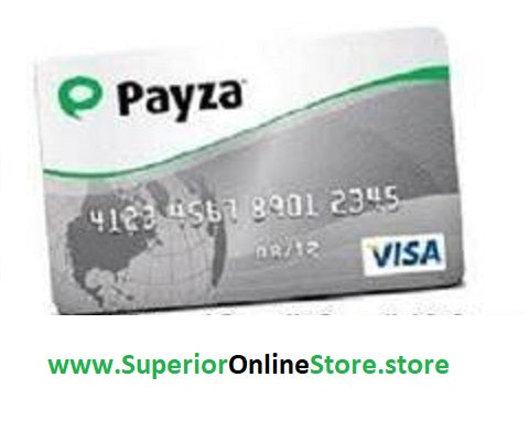 Buy Virtual Credit Card (VCC) for Payza Account Verification