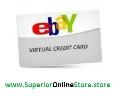 Buy Virtual Credit Card (VCC) for eBay