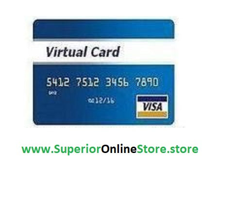 Buy Virtual Credit Card (VCC) with $3 Balance