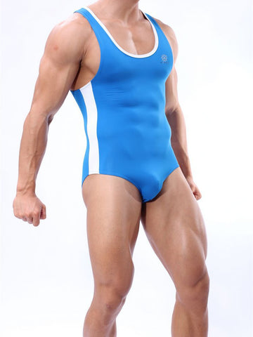 Men's Leotard Beachwear Bodysuits Shaper