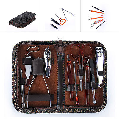 10 pcs Man Women Manicure Set