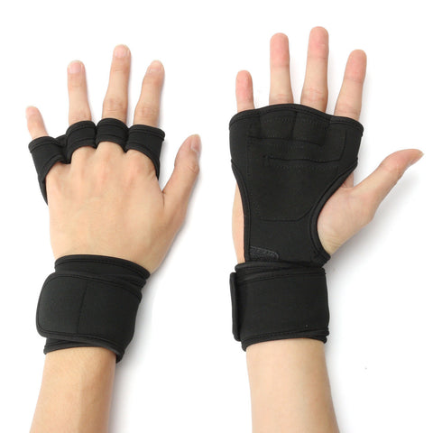 1 Pair Weight Lifting Gloves For Men
