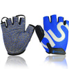 Image of An-slip Weight Lifting Sports Training Fingerless Gloves
