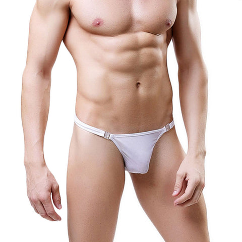 Sexy Men's Breathe Underwear Thong Briefs