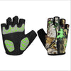 Image of Breathable Wrist Wrap Gym Half Finger Gloves