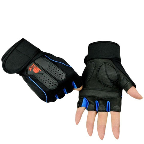 Half Finger Breathable Weightlifting Fitness Gloves
