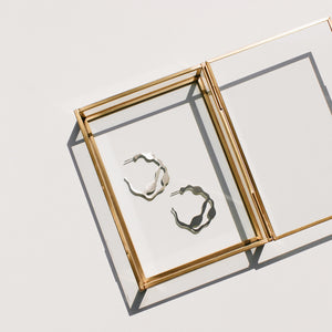 Arame Hoops - Denisa Piatti Jewellery