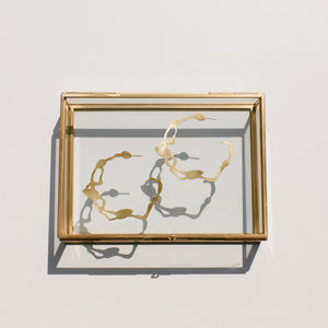 Twisted Wrack Hoops - Denisa Piatti Jewellery