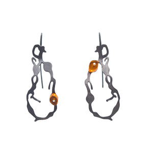 Chandelier Seaweed Earrings - Denisa Piatti Jewellery