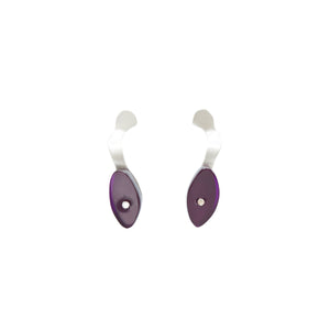 Handmade-to-Order Seaweed Stud Earrings - Denisa Piatti Jewellery