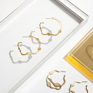 Nori Hoops - Denisa Piatti Jewellery