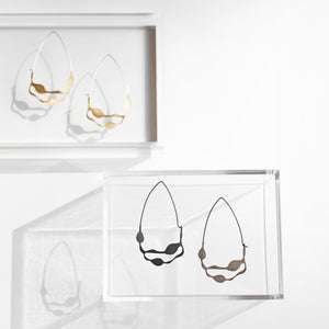 Wakame Earrings - Denisa Piatti Jewellery