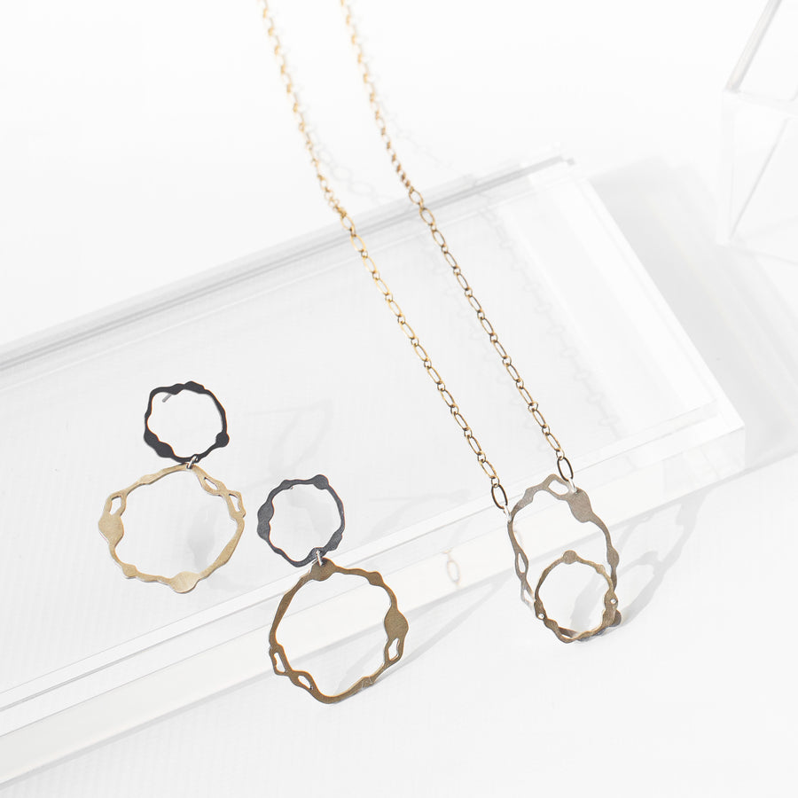 Oval Komu Necklace - Denisa Piatti Jewellery