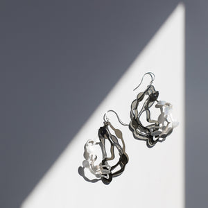 Large Pendant Earrings - Denisa Piatti Jewellery