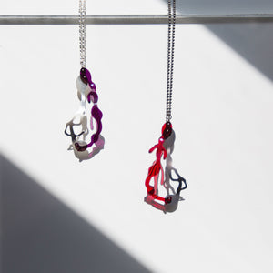 Drop Pendant Necklace - Denisa Piatti Jewellery