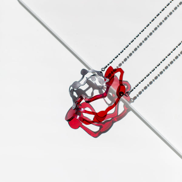 Seaweed Pendant Necklace - Denisa Piatti Jewellery