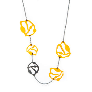 Long Seaweed Necklace - Denisa Piatti Jewellery