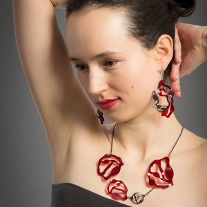 Short Seaweed Necklace - Denisa Piatti Jewellery