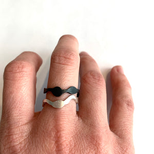 Stacking Seaweed Ring - Denisa Piatti Jewellery