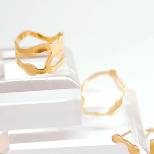 Arame Ring, Gold Vermeil - Denisa Piatti Jewellery