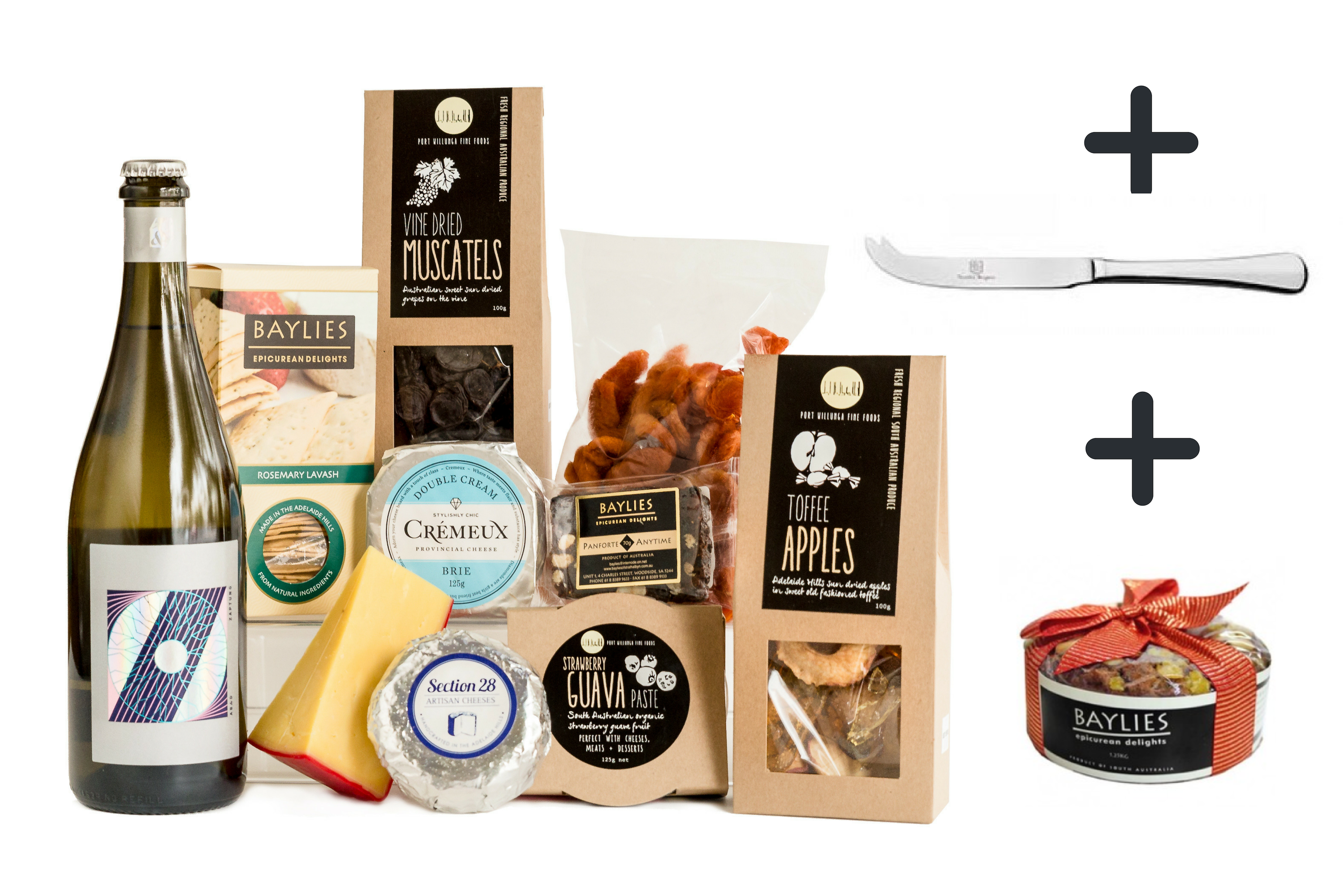 Celebration Cheese & Wine Hamper (Christmas Delivery)
