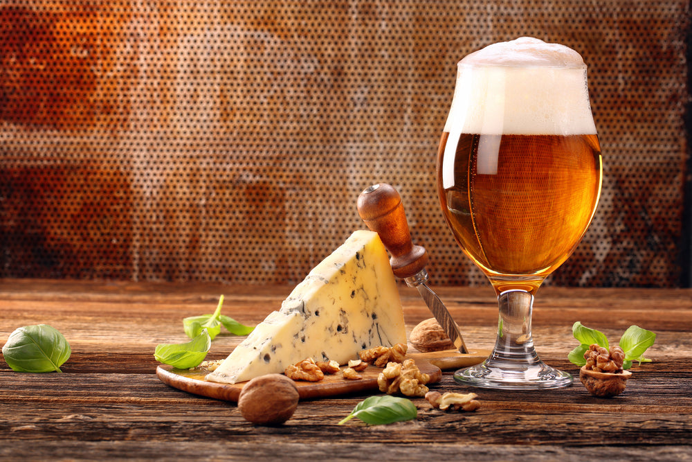 Father's Day Beer and Cheese Hamper Box
