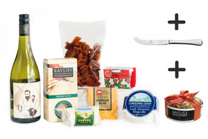 Cheese & White Wine Hamper (Christmas Delivery)