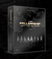 Official ATEEZ The Fellowship Map The Treasure Seoul DVD - Kpop Omo