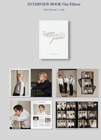 Official Super Junior 15th Anniversary Photo Book [Remember 15] - Kpop Omo