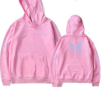 "Comfy & Soft BTS Hoodie from ""Love Yourself"" album - Kpop Omo"