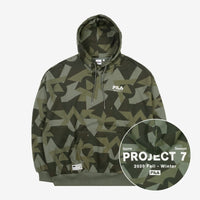 Official BTS x Fila Project 7 Hoodie (SUGA Version) - Kpop Omo