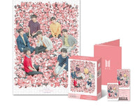 Official BTS Jigsaw Puzzle World Tour Concert Poster (1000pcs) - Kpop Omo