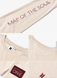 Official BTS Map of the Soul ON:E MD - Long Sleeve T-Shirt - Kpop Omo