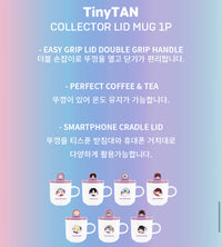 Official BTS x TinyTAN Collector Lid Mug - Kpop Omo