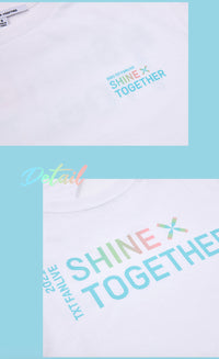 Official TXT SHINE x TOGETHER T-Shirt - Kpop Omo