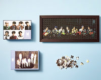 Official BTS Map of the Soul 7 Jigsaw Puzzle (Set of 4) - Kpop Omo