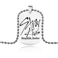 Stray Kids Autograph Stainless Steel Necklace - Kpop Omo