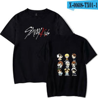 Stray Kids T-Shirt with ALL 9 members names - Kpop Omo