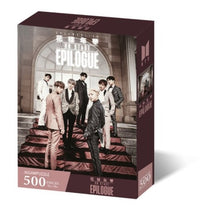 Official BTS Jigsaw Puzzle - World Tour Poster - Kpop Omo