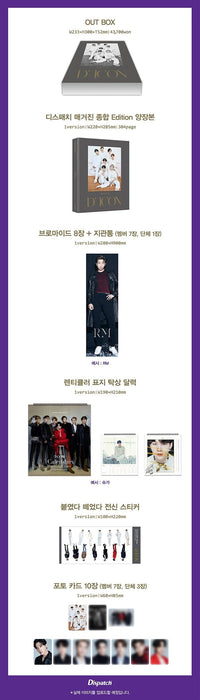 Official BTS Goes On! D-ICON (DICON): Vol.10 Photobook - Kpop Omo