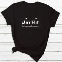 BTS Jin Hit Entertainment T-Shirt - Kpop Omo